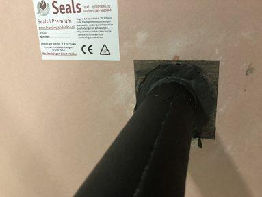 Seals I Brandwerende Kit Armaflex Geisoleerde Leidingen