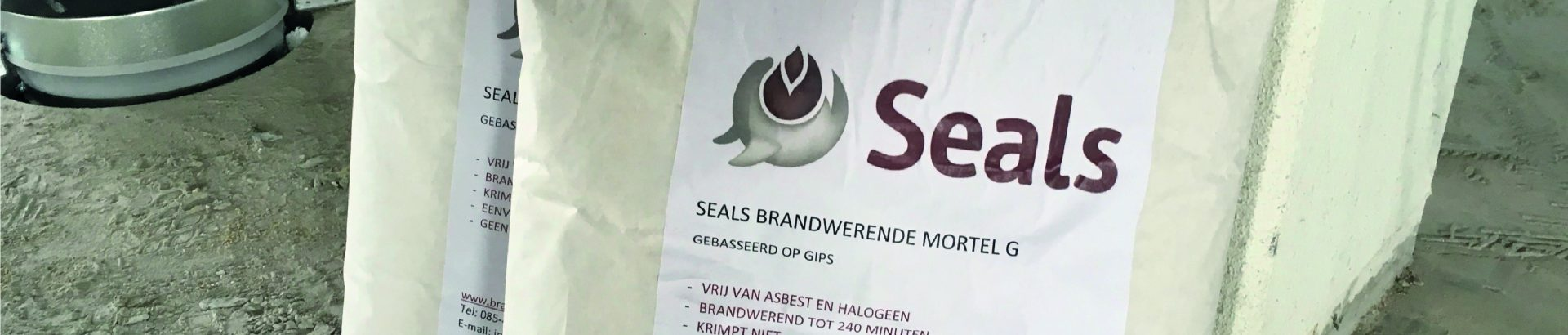 Banner Seals Brandwerende Mortel
